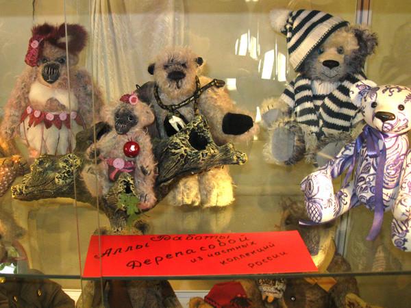 Выставка Teddy-мишек из коллекции Аллы Дерепасовой