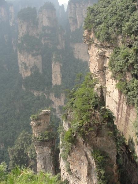 горы Чжанцзянцзе, горы Аватара