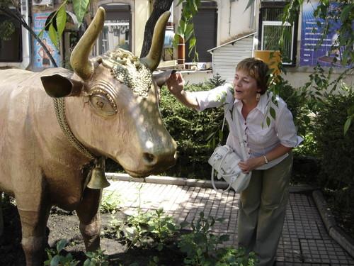 Иркутск. Волшебная корова