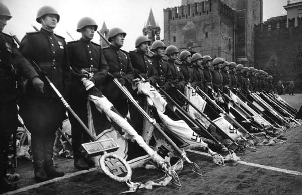 Парад победы 1945 фотохроника 1941 1945
