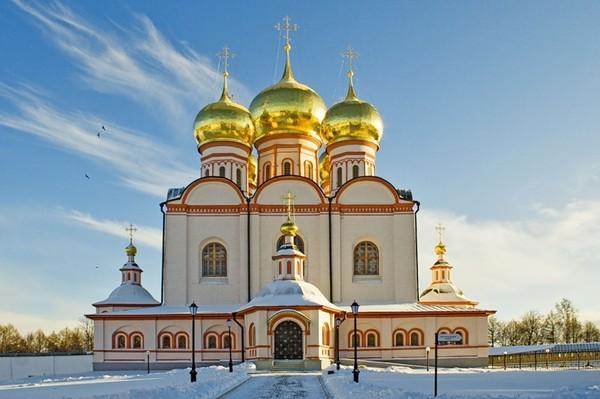 Иверский монастырь на Валдае - Татьяна Васильевна Прокофьева.