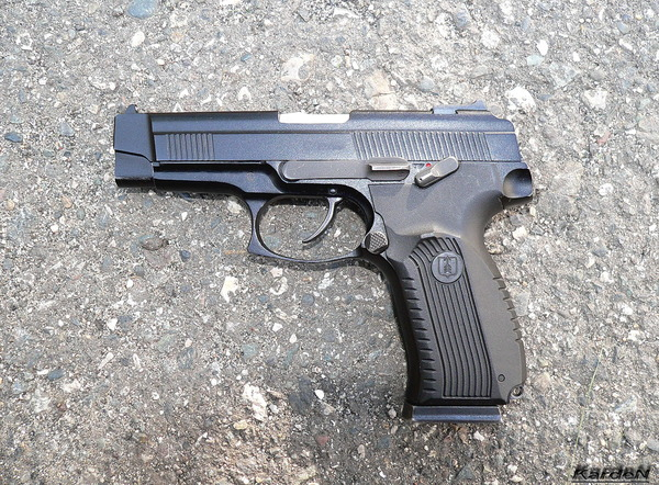 пистолет Ярыгина - ПЯ фото 1