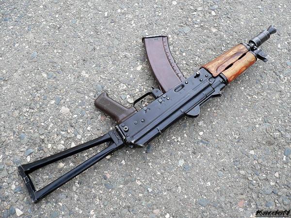 автомат Калашникова укороченный АКС-74У фото 4