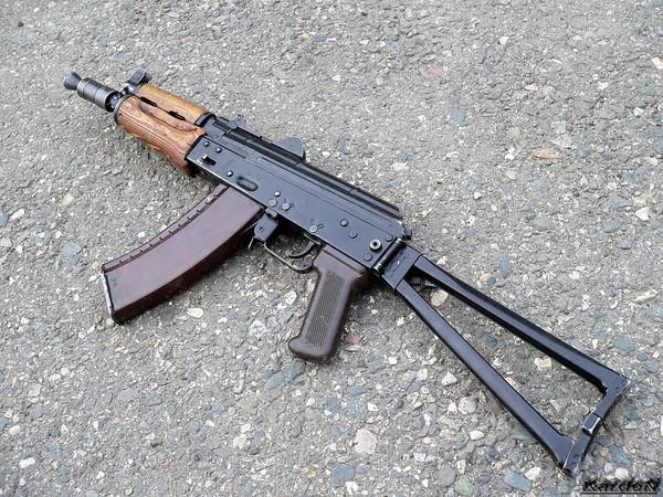 автомат Калашникова укороченный АКС-74У фото 5