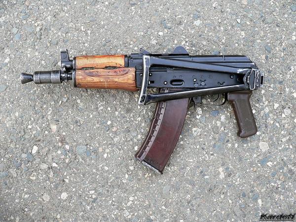 Автомат Калашникова АКС-74У