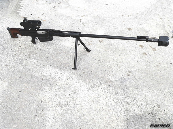 Крупнокалиберная снайперская винтовка ОСВ-96 фото 1