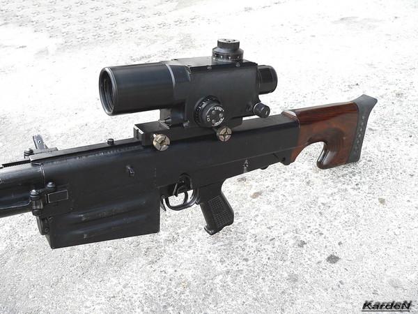Крупнокалиберная снайперская винтовка ОСВ-96 фото 5