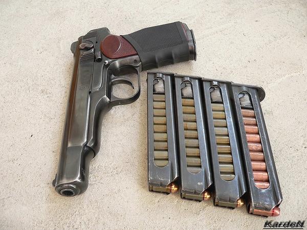 автоматический пистолет Стечкина - АПС фото 13
