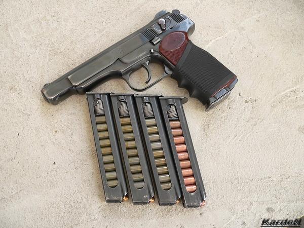 автоматический пистолет Стечкина - АПС фото 16