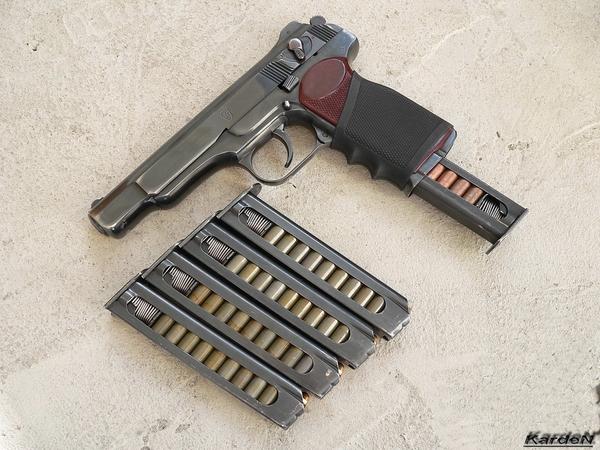 автоматический пистолет Стечкина - АПС фото 17