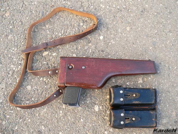 автоматический пистолет Стечкина - АПС фото 22