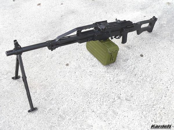 Пулемет Калашникова пехотный «Печенег» фото 2