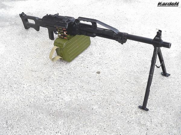 Пулемет Калашникова пехотный «Печенег» фото 11