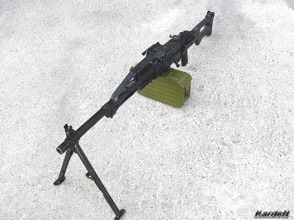 Пулемет Калашникова пехотный «Печенег» фото 12