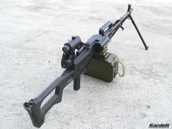 Пулемет Калашникова пехотный «Печенег» фото 19
