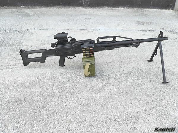 Пулемет Калашникова пехотный «Печенег» фото 22