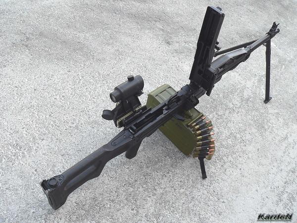 Пулемет Калашникова пехотный «Печенег» фото 30