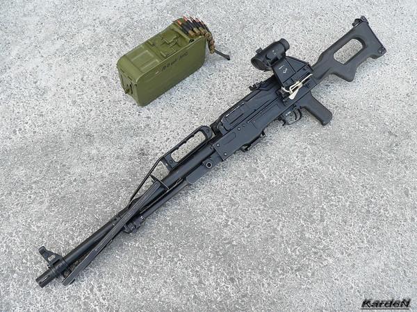 Пулемет Калашникова пехотный «Печенег» фото 33