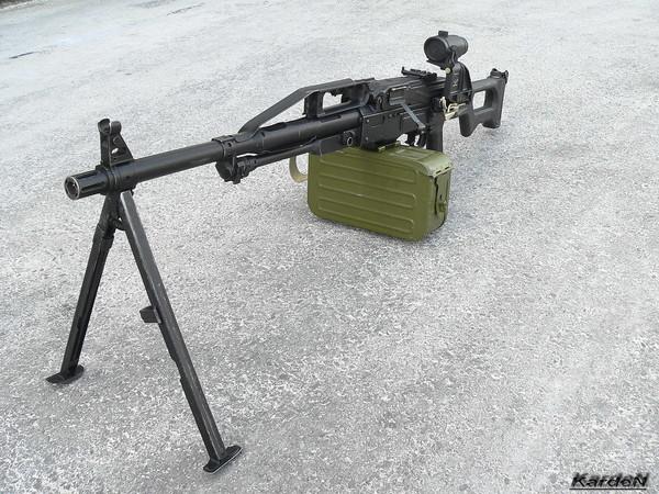 Пулемет Калашникова пехотный «Печенег» фото 42