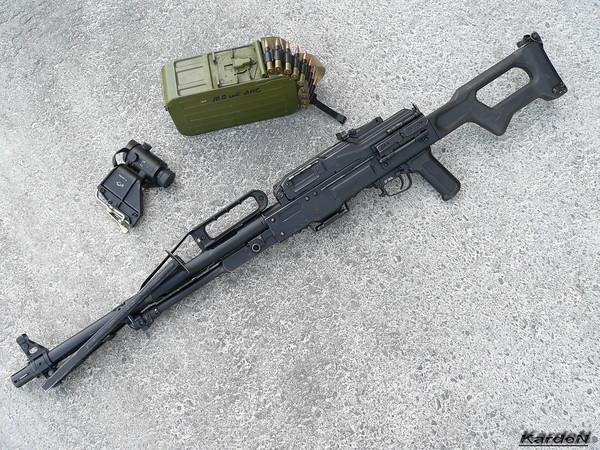 Пулемет Калашникова пехотный «Печенег» фото 43