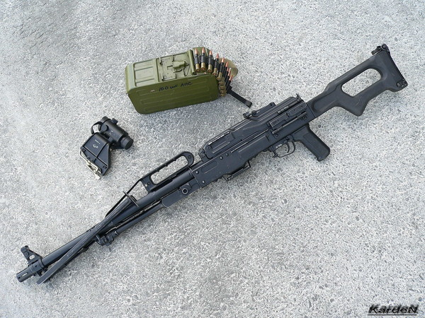 Пулемет Калашникова пехотный «Печенег» фото 44