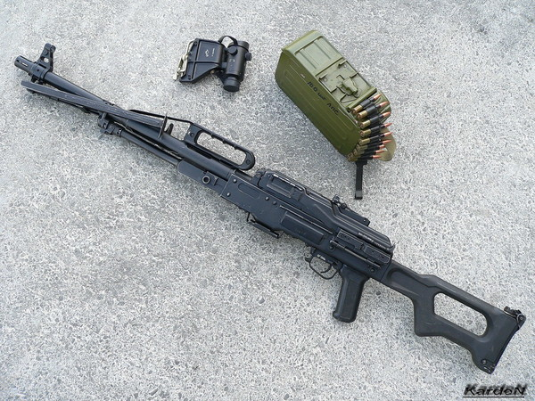 Пулемет Калашникова пехотный «Печенег» фото 45