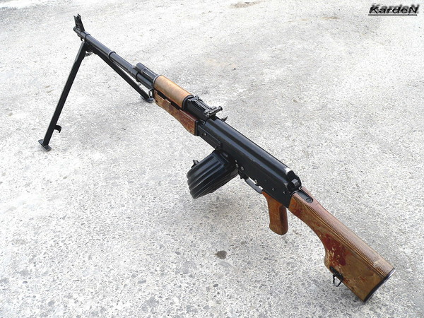 Ручной пулемет Калашникова - РПК фото 3