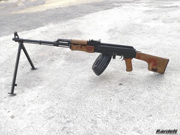 Ручной пулемет Калашникова - РПК