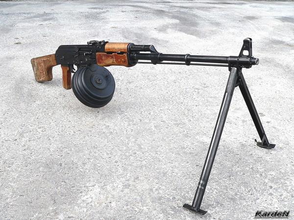 Ручной пулемет Калашникова - РПК фото 5