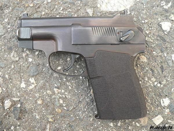 пистолет самозарядный специальный - ПСС фото 2