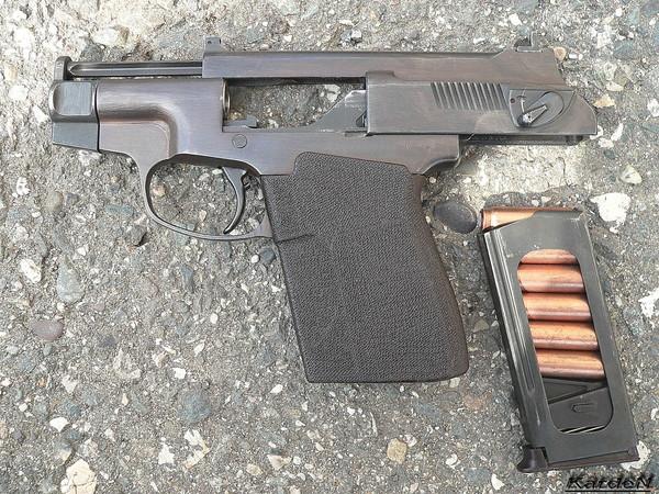 пистолет самозарядный специальный - ПСС фото 4