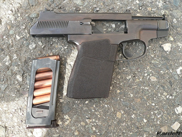 пистолет самозарядный специальный - ПСС фото 5