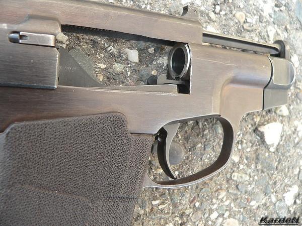 пистолет самозарядный специальный - ПСС фото 6