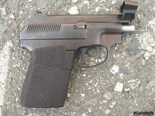 пистолет самозарядный специальный - ПСС фото 10