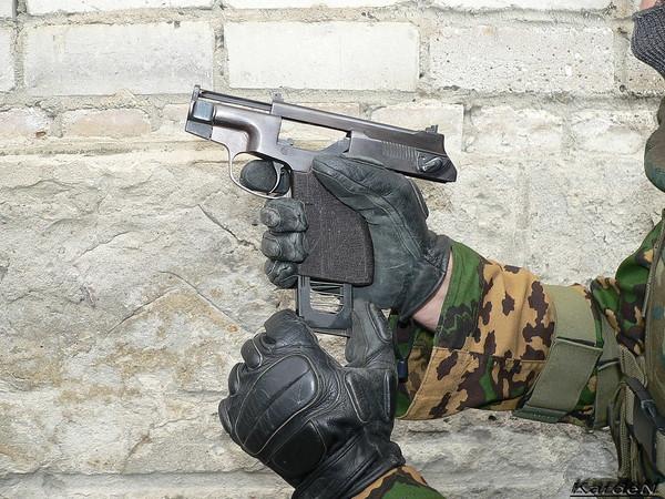 пистолет самозарядный специальный - ПСС фото 15