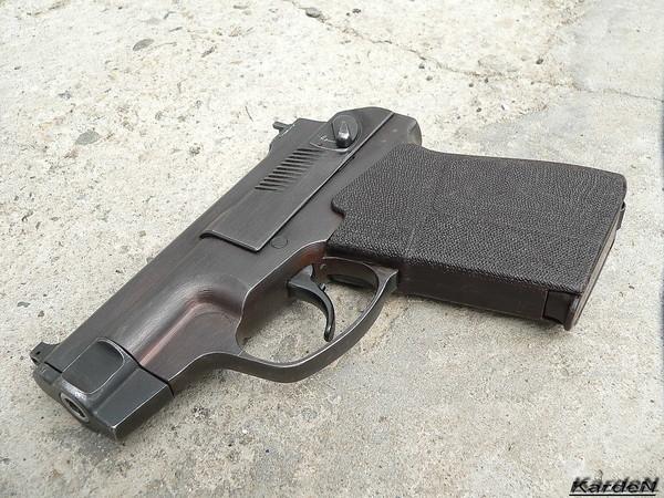 пистолет самозарядный специальный - ПСС фото 20
