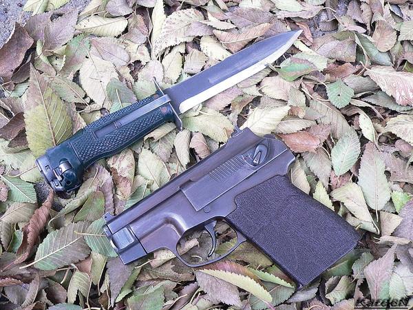 пистолет самозарядный специальный - ПСС фото 24
