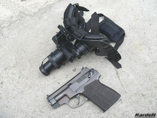 пистолет самозарядный специальный - ПСС фото 28