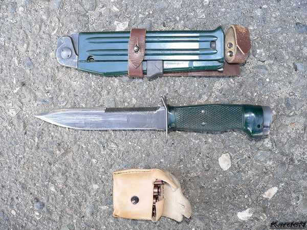 Scout's firing knife NRS-2 photo 2
