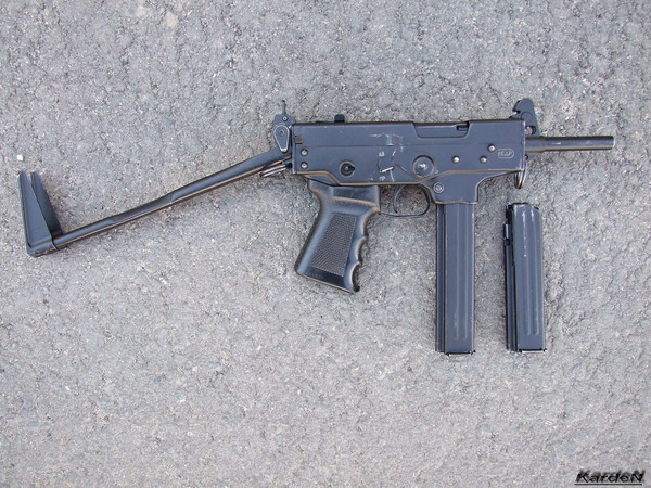 пистолет-пулемет ПП-91 Кедр фото 2