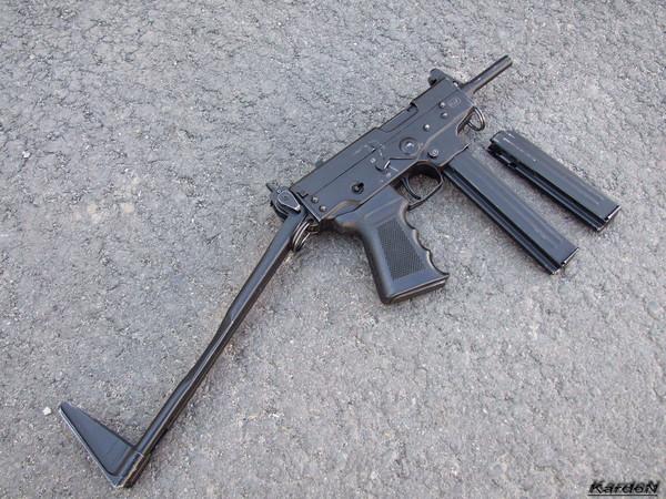 пистолет-пулемет ПП-91 Кедр фото 3