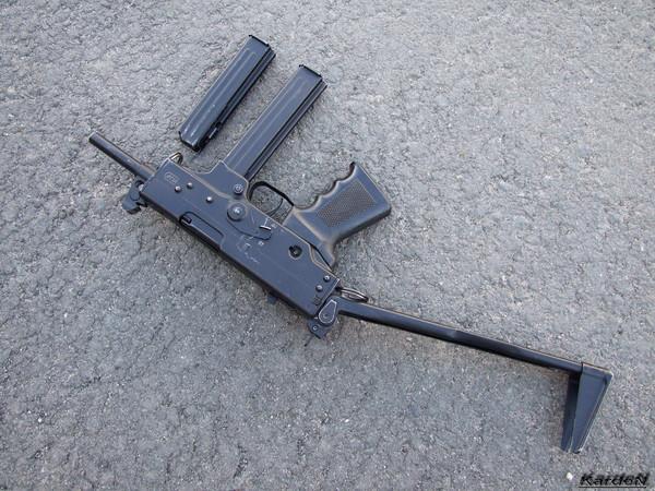 пистолет-пулемет ПП-91 Кедр фото 4