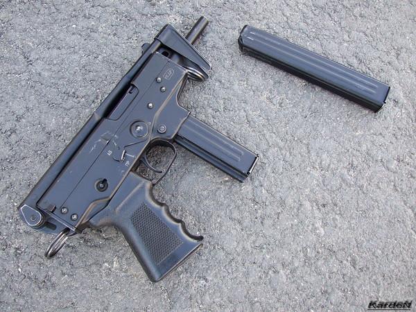 пистолет-пулемет ПП-91 Кедр фото 5