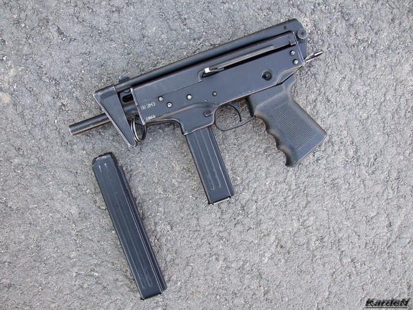 пистолет-пулемет ПП-91 Кедр фото 6