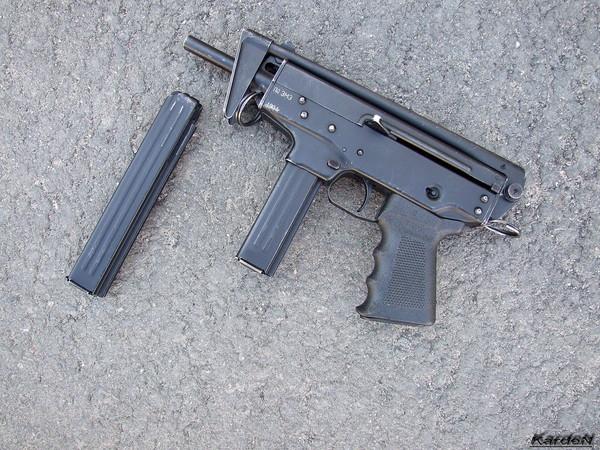 пистолет-пулемет ПП-91 Кедр фото 7