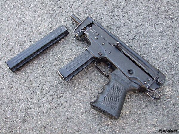 пистолет-пулемет ПП-91 Кедр фото 8