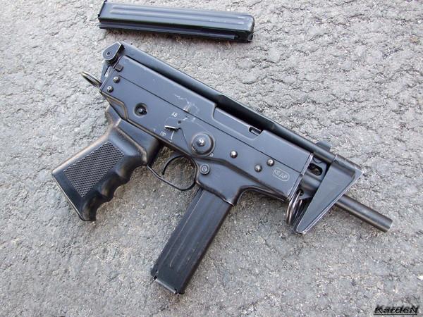 пистолет-пулемет ПП-91 Кедр фото 9