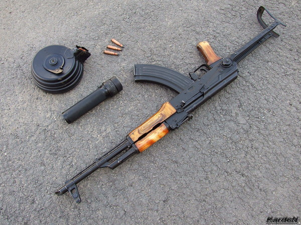 Автомат Калашникова модернизированный АКМС фото 3