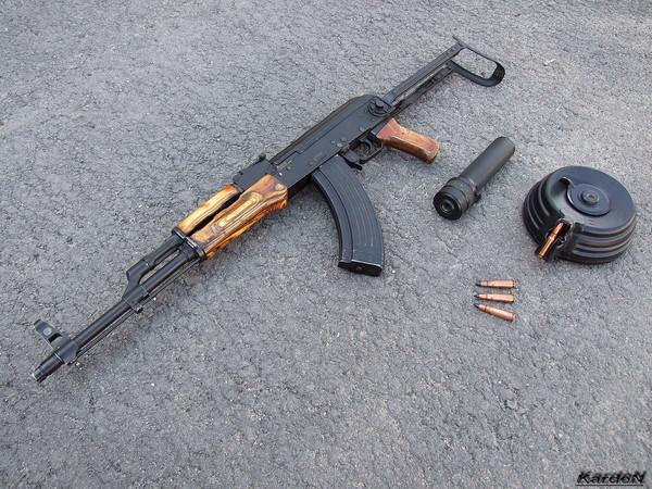 Автомат Калашникова модернизированный АКМС фото 8