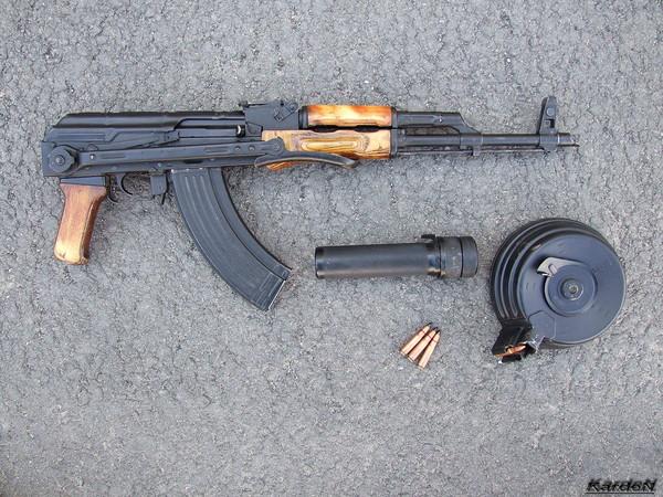 Автомат Калашникова модернизированный АКМС фото 11